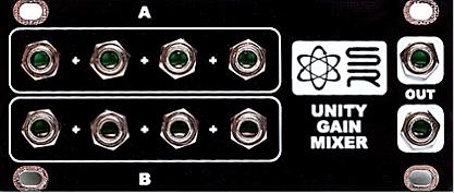 Synthrotek 1U Unity Gain Mixer