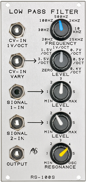 Analogue Systems RS-100S LPF Mk3 1
