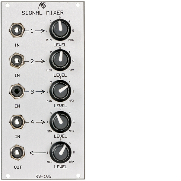 Analogue Systems RS-165 Audio Mixer 1