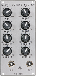 Analogue Systems RS-215 Eight Octave Filterbank 1