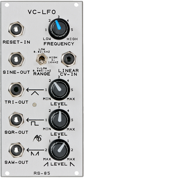 Analogue Systems RS-85 Extended VC-LFO 1